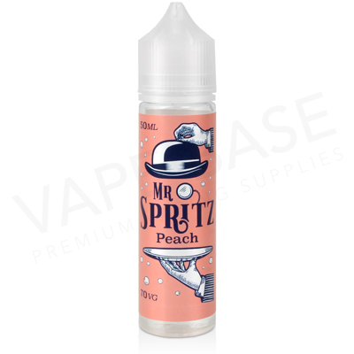 Peach Shortfill E-Liquid by Mr Spritz