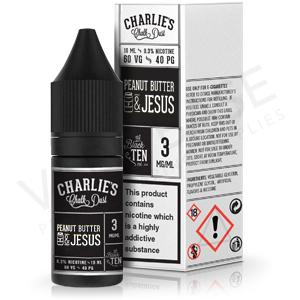Peanut Butter & Jesus E-Liquid by Charlie's Chalk Dust