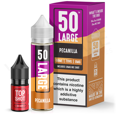 Pecanilla E-Liquid by 50 Large