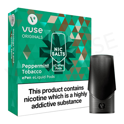 Peppermint Tobacco ePen Nic Salt Pod by Vuse