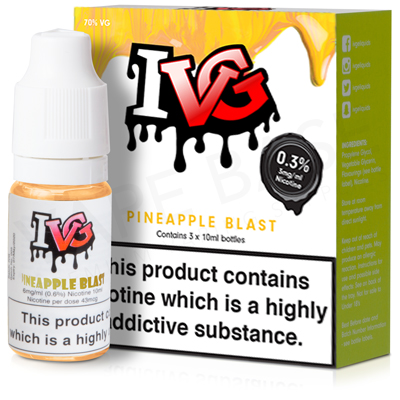 Pineapple Blast E-Liquid by IVG