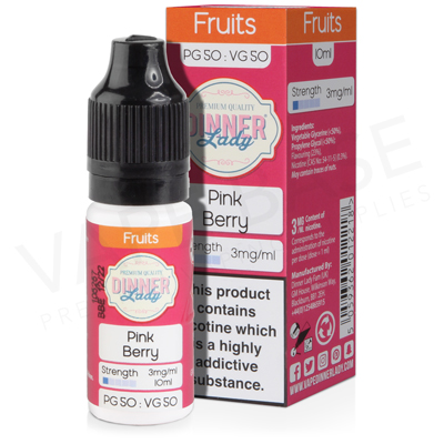 Pink Berry E-Liquid by Dinner Lady Fruits 50/50
