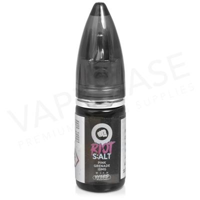 Pink Grenade Hybrid Salt E-Liquid by Riot Squad