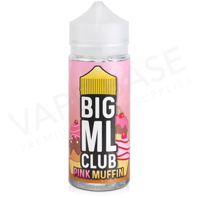 Pink Muffin E-Liquid by The Big ML Club