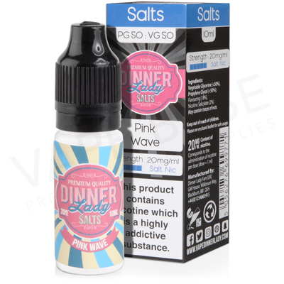 Pink Wave Salt Nicotine E-Liquid by Dinner Lady