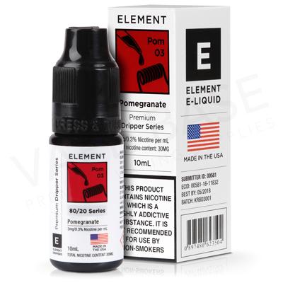 Pomegranate Dripper E-Liquid by Element