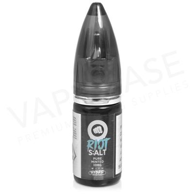 Pure Minted Hybrid Salt E-Liquid by Riot Squad