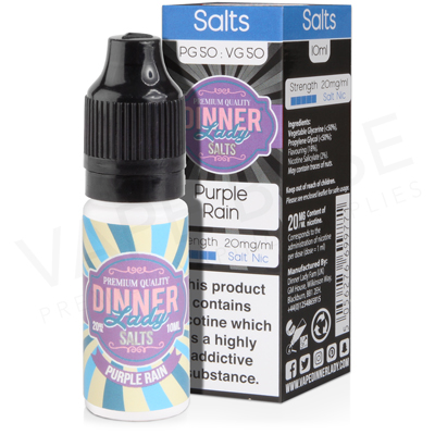 Purple Rain Salt Nicotine E-Liquid by Dinner Lady