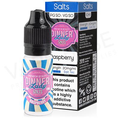Raspberry Nic Salt E-Liquid by Dinner Lady