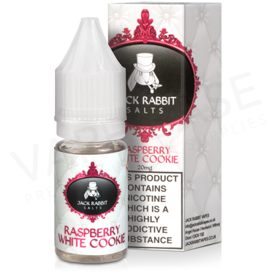 Raspberry White Cookie E-Liquid by Jack Rabbit Salts