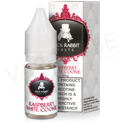 Raspberry White Cookie E-Liquid by Jack Rabbit Salts