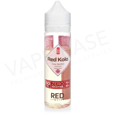 Red Kola Shortfill E-Liquid by Red Liquid Classics 50ml