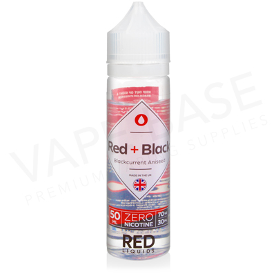 Red + Black Shortfill E-Liquid by Red Liquid Classics 50ml