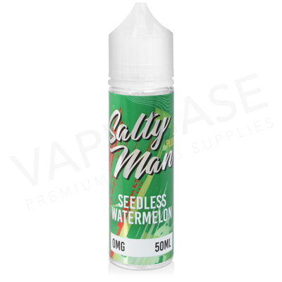 Seedless Watermelon 50ml Shortfill E-Liquid by Solace Salty Man