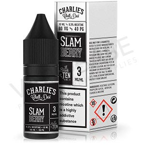 Slam Berry E-Liquid by Charlie's Chalk Dust