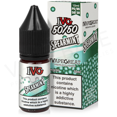 Spearmint E-Liquid by I VG 50/50