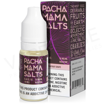 Starfruit Grape E-Liquid by Pacha Mama Salts