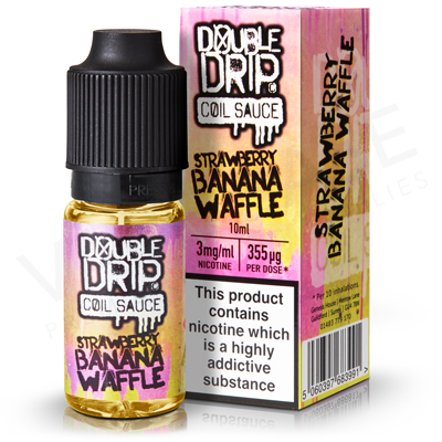 Strawberry Banana Waffle E-Liquid by Double Drip