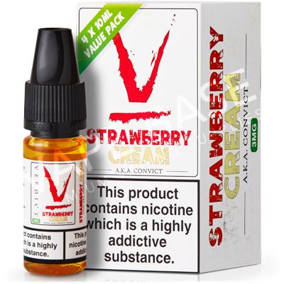 Strawberry Cream E-Liquid by Verdict Vapors