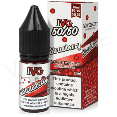Strawberry E-Liquid by IVG 50/50
