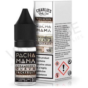 Strawberry, Guava and Jackfruit E-Liquid by Pacha Mama