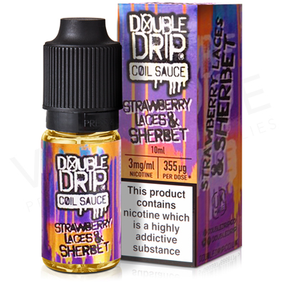 Strawberry Laces And Sherbet E-Liquid by Double Drip