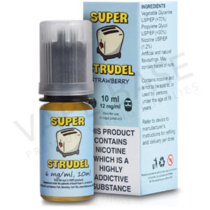 Strawberry E-Liquid by Super Strudel