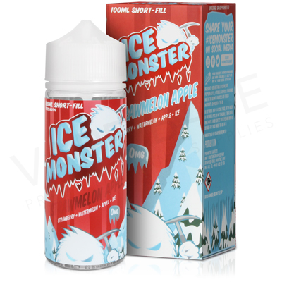 Strawmelon Apple E-Liquid by Ice Monster 100ml