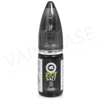 Sub-Lime Hybrid Salt E-Liquid by Riot Squad