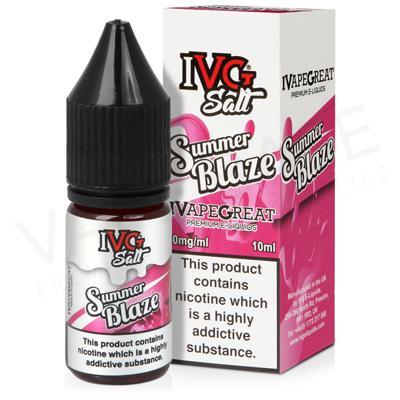 Summer Blaze Nic Salt E-Liquid by IVG Salts
