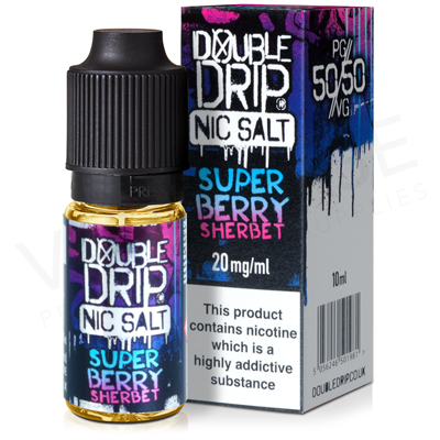 Super Berry Sherbet Nic Salt E-Liquid by Double Drip