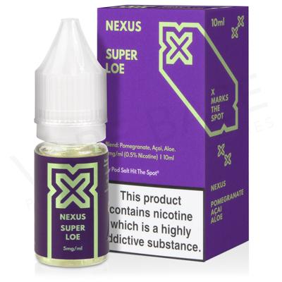 Super Loe Nic Salt E-Liquid by Pod Salt Nexus