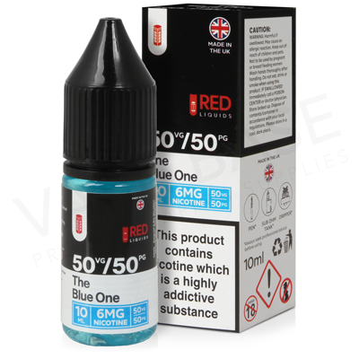 The Blue One E-Liquid by Red Liquid 50/50