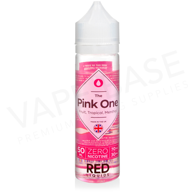 The Pink One Shortfill E-Liquid by Red Liquid Classics 50ml