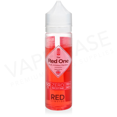 The Red One Shortfill E-Liquid by Red Liquid Classics 50ml