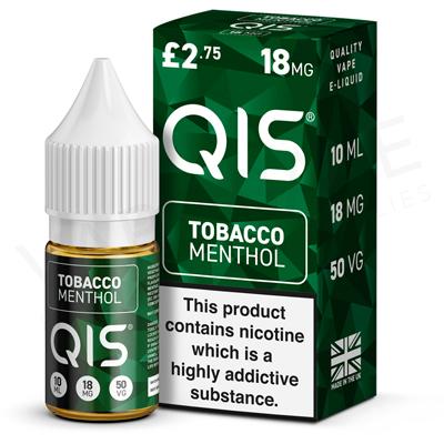 Tobacco Menthol E-Liquid by QIS 50/50