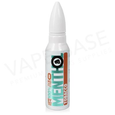 Tobacco Menthol Shortfill E-Liquid by Riot Squad 50ml