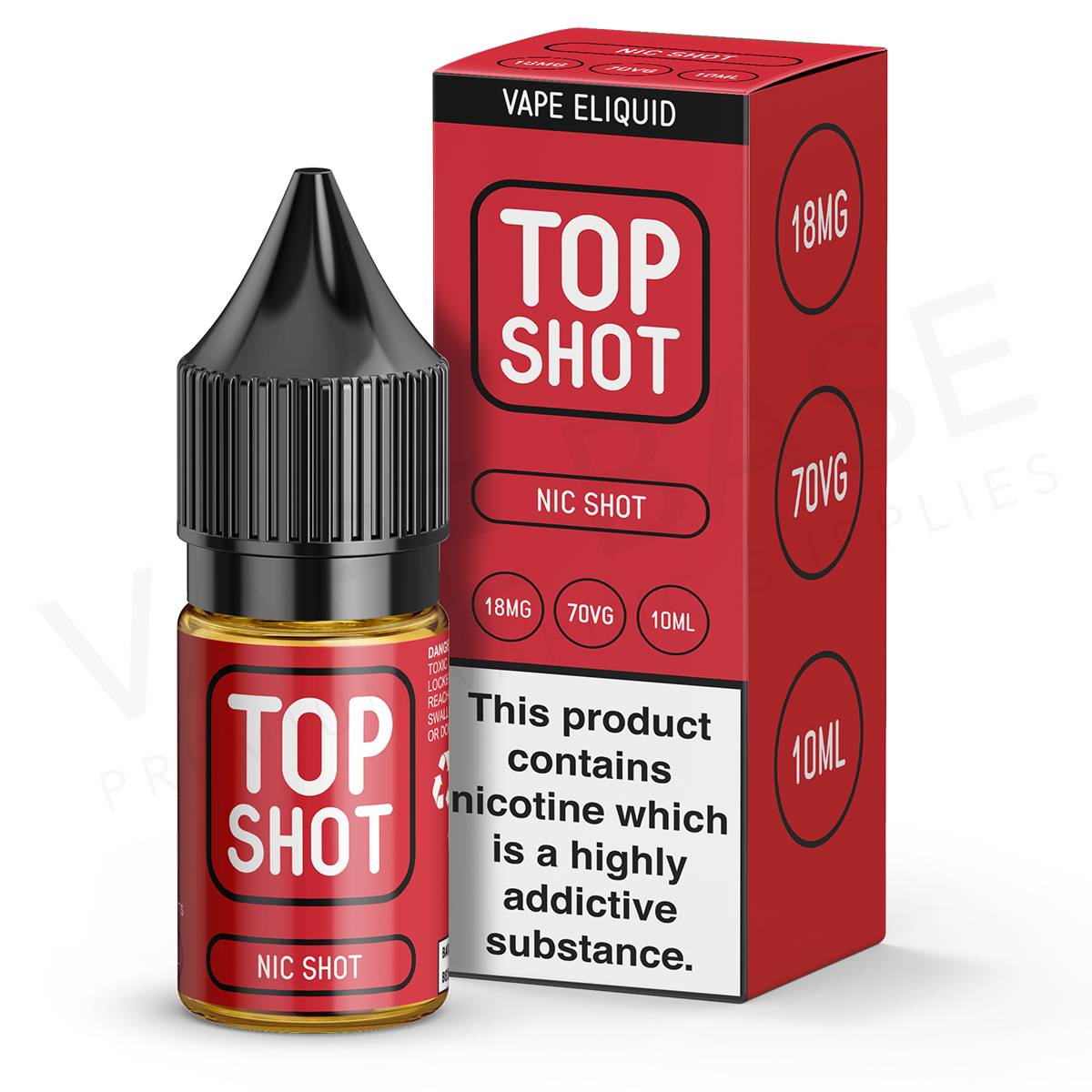 Top Shot 70VG Nicotine Shot by Top Shot