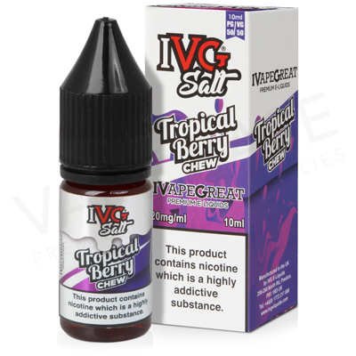Tropical Berry Chew Nic Salt E-Liquid by IVG Salts