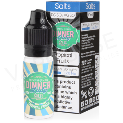 Tropical Fruits Salt Nicotine E-Liquid by Dinner Lady