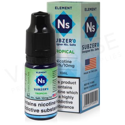 Tropical Nic Salt E-Liquid by Element Subzero