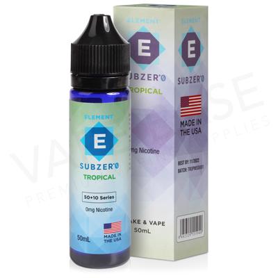 Tropical Shortfill E-Liquid by Element Subzero