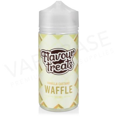 Vanilla Custard Waffle Shortfill E-Liquid by Flavour Treats 100ml