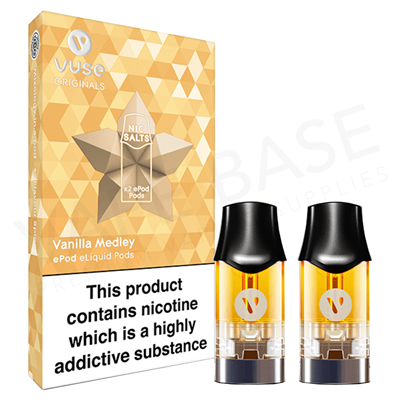 Vanilla Medley Nic Salt ePod by Vuse