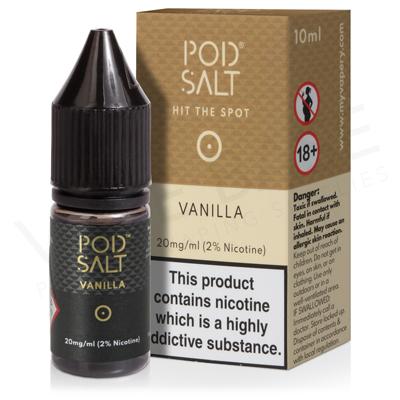 Vanilla Nic Salt E-Liquid by Pod Salt