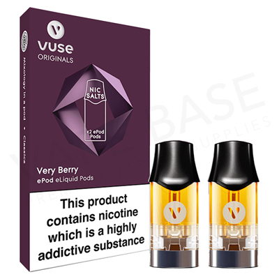 Very Berry Nic Salt ePod by Vuse