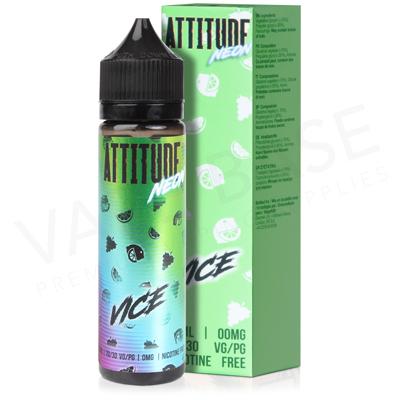 Vice Short Fill E-Liquid by Attitude 50ml