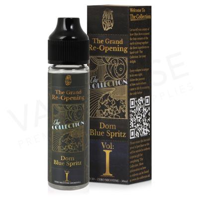 Volume I Dom Blue Spritz Shortfill E-Liquid by Ohm Brew 50ml