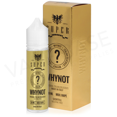 Why Not E-Liquid by SuperFlavor 50ml