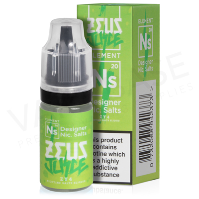 Zy4 Nic Salt E-Liquid by Zeus Juice
